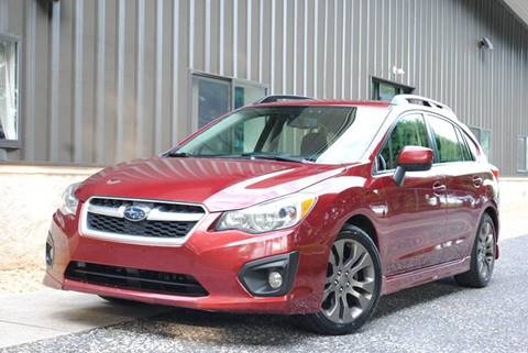 2012 Subaru Impreza for sale at TRUST AUTO in Sykesville MD
