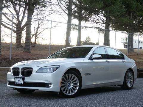 2012 BMW 7 Series For Sale In Sykesville MD