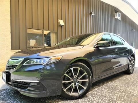 2015 Acura TLX for sale in Sykesville, MD