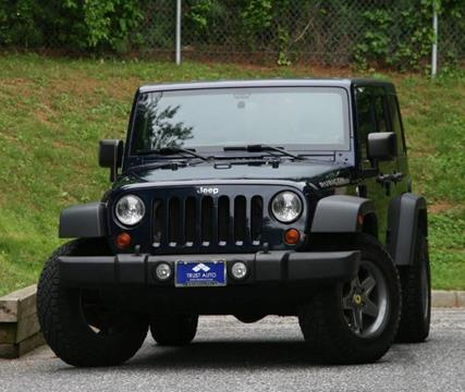 2013 Jeep Wrangler Unlimited for sale in Sykesville, MD