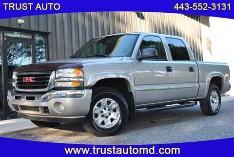 2006 GMC Sierra 1500 for sale in Sykesville, MD