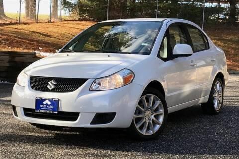 2011 Suzuki SX4 for sale at TRUST AUTO in Sykesville MD