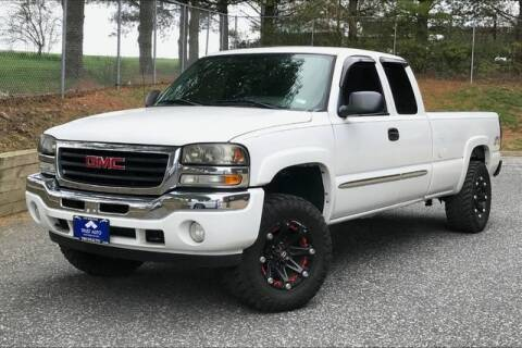 2006 GMC Sierra 1500 for sale at TRUST AUTO in Sykesville MD