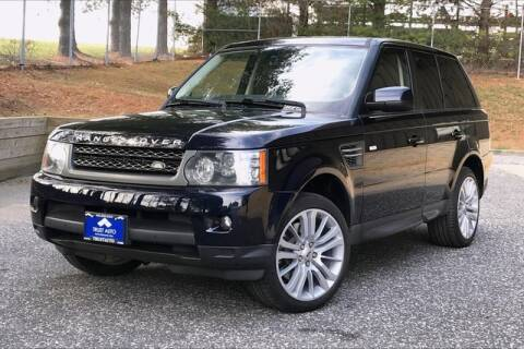 2010 Land Rover Range Rover Sport HSE for sale at TRUST AUTO in Sykesville MD