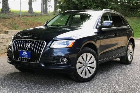 2014 Audi Q5 Hybrid for sale at TRUST AUTO in Sykesville MD