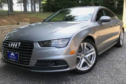 2017 Audi A7 for sale at TRUST AUTO in Sykesville MD