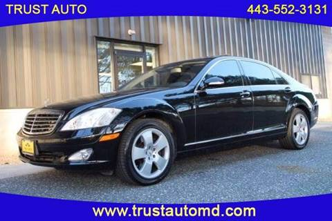 2007 Mercedes-Benz S-Class for sale in Sykesville, MD