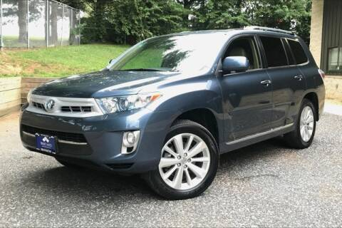 2012 Toyota Highlander Hybrid for sale at TRUST AUTO in Sykesville MD