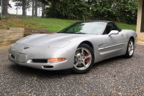 2002 Chevrolet Corvette for sale at TRUST AUTO in Sykesville MD