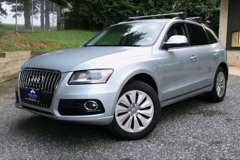 2013 Audi Q5 Hybrid for sale at TRUST AUTO in Sykesville MD