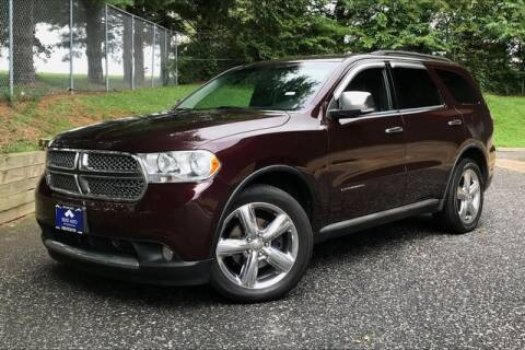 2012 Dodge Durango for sale at TRUST AUTO in Sykesville MD