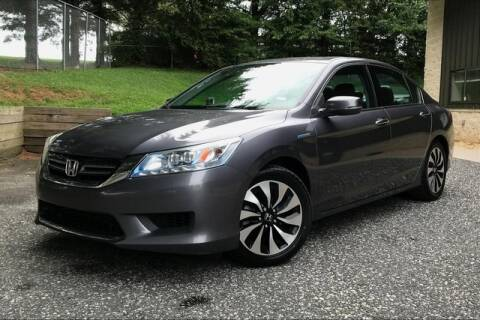 2014 Honda Accord Hybrid for sale at TRUST AUTO in Sykesville MD