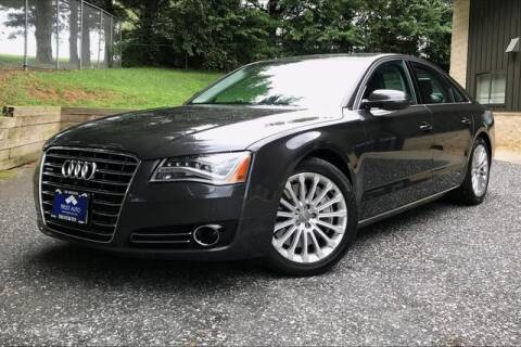 2014 Audi A8 for sale at TRUST AUTO in Sykesville MD