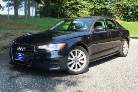 2013 Audi A6 for sale at TRUST AUTO in Sykesville MD