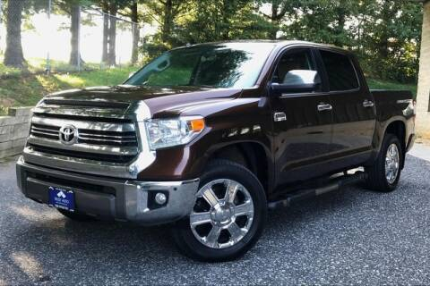 2017 Toyota Tundra for sale at TRUST AUTO in Sykesville MD