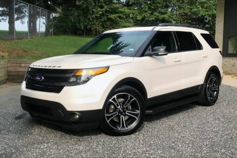 2015 Ford Explorer for sale at TRUST AUTO in Sykesville MD