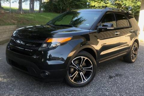 2014 Ford Explorer for sale at TRUST AUTO in Sykesville MD