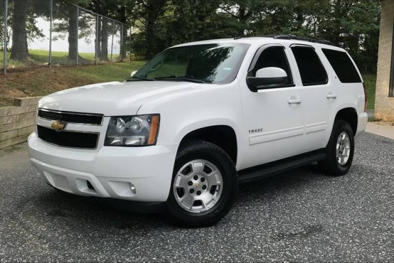 2013 Chevrolet Tahoe for sale at TRUST AUTO in Sykesville MD