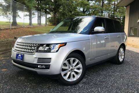 2014 Land Rover Range Rover for sale at TRUST AUTO in Sykesville MD