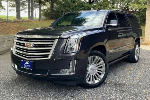 2017 Cadillac Escalade ESV for sale at TRUST AUTO in Sykesville MD