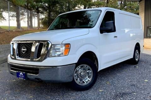 2017 Nissan NV Cargo for sale at TRUST AUTO in Sykesville MD