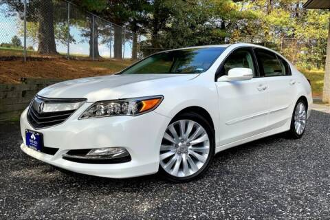 2015 Acura RLX for sale at TRUST AUTO in Sykesville MD