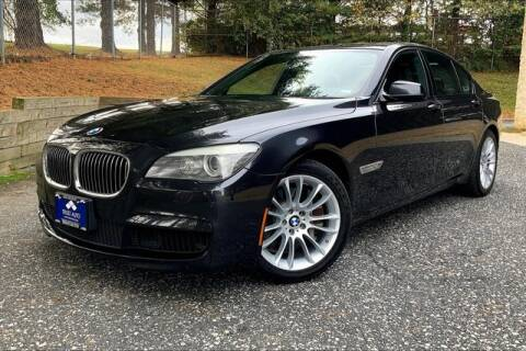 2012 BMW 7 Series for sale at TRUST AUTO in Sykesville MD