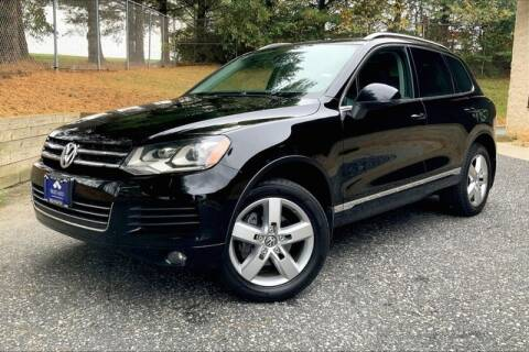 2014 Volkswagen Touareg for sale at TRUST AUTO in Sykesville MD