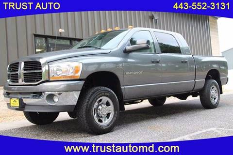 2006 Dodge Ram Pickup 2500 for sale in Sykesville, MD
