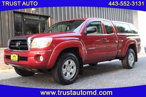 2005 Toyota Tacoma for sale in Sykesville, MD