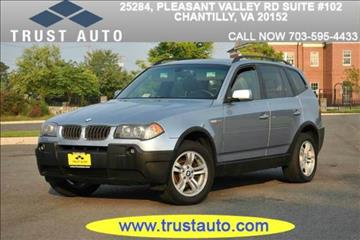 2005 BMW X3 for sale in Sykesville, MD