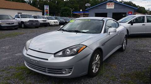 2008 Hyundai Tiburon for sale in Old Forge, PA
