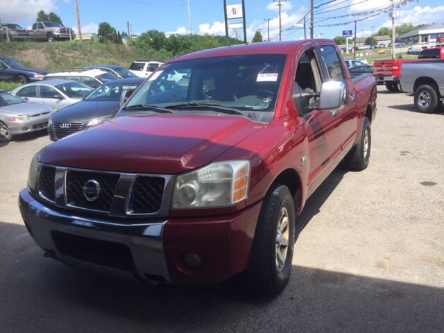 2004 Nissan Titan Xe 4dr Crew Cab 4wd Sb In Moosic Pa Prime Auto Group