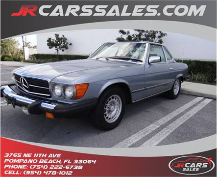 1981 Mercedes Benz 380 Class For Sale In Pompano Beach, FL