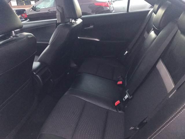 2012 Toyota Camry SE 4dr Sedan - Wilson NC