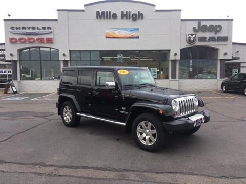 2011 Jeep Wrangler Unlimited for sale in Butte, MT