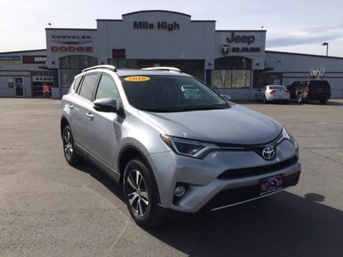 2016 Toyota RAV4 for sale in Butte, MT