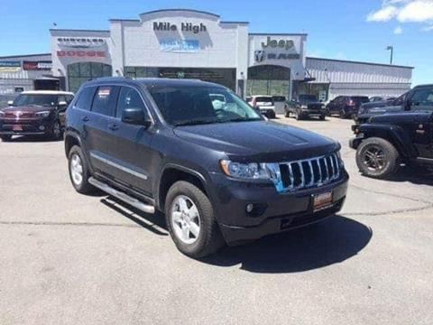 2013 Jeep Grand Cherokee for sale in Butte, MT