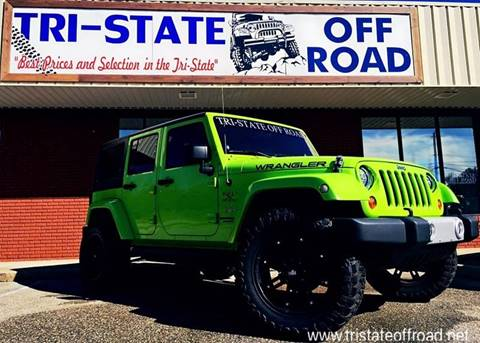2013 Jeep Wrangler Unlimited for sale at Dothan OffRoad And Marine in Dothan AL