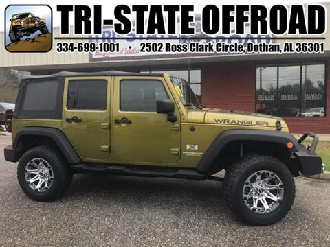 2007 Jeep Wrangler Unlimited For Sale In Dothan, AL
