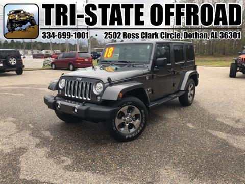 2018 Jeep Wrangler Unlimited for sale in Dothan, AL