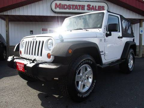2012 Jeep Wrangler for sale in Foley, MN