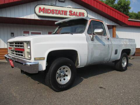 1981 Chevrolet C/K 10 Series for sale at Midstate Sales in Foley MN
