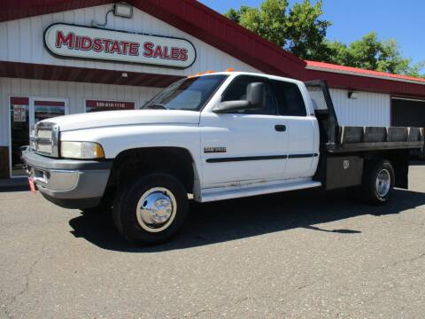 1999 Dodge Ram Pickup 3500 for sale at Midstate Sales in Foley MN