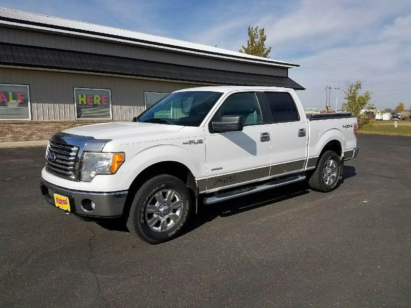 2011 Ford F-150 4x4 XLT 4dr SuperCrew Styleside 6.5 ft. SB - Wahpeton ND