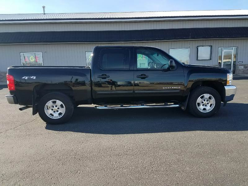 2013 Chevrolet Silverado 1500 4x4 LT 4dr Crew Cab 5.8 ft. SB - Wahpeton ND