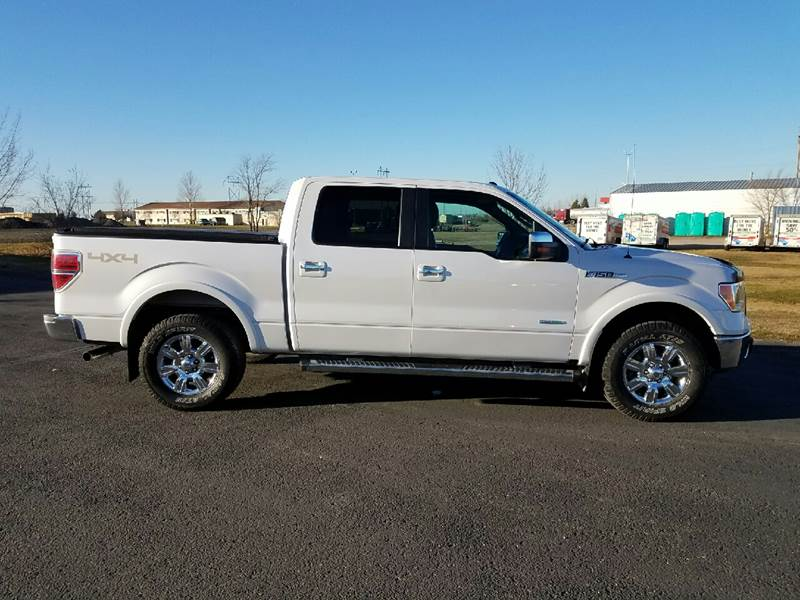 2012 Ford F-150 4x4 Lariat 4dr SuperCrew Styleside 6.5 ft. SB - Wahpeton ND