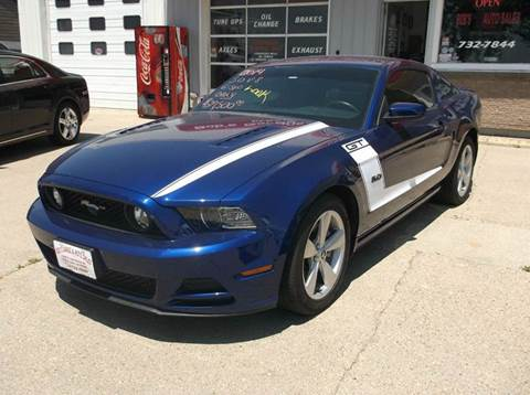 2014 Ford Mustang for sale at Bob's Garage Auto Sales and Towing in Storm Lake IA