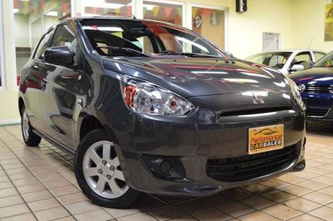2014 Mitsubishi Mirage for sale at Performance car sales in Joliet IL