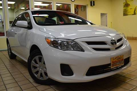 2011 Toyota Corolla for sale at Performance car sales in Joliet IL